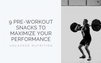9 Pre-Workout Snacks to Maximize your Workout
