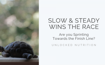 Slow and Steady Wins the Race. Are you Sprinting Towards the Finish Line?