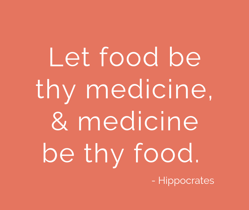 Why I won't stop saying food is medicine…