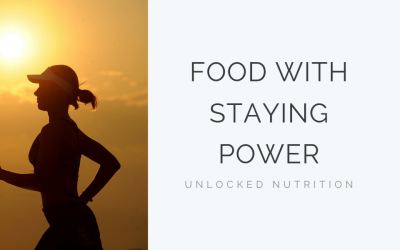 Food with Staying Power